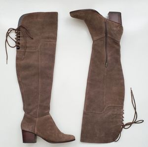 Aldo Over the Knee Suede Boots